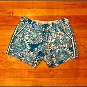 Lilly pulitzer Callahan short Ariel blue